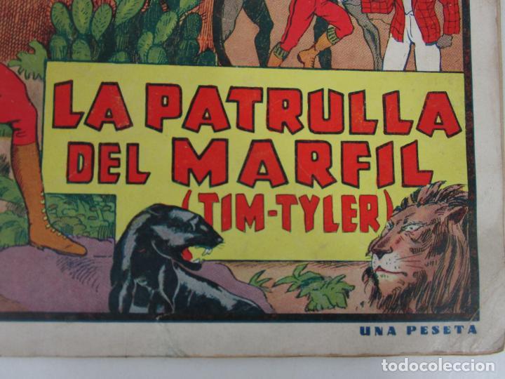 Tebeos: Las Grades Aventuras - La Patrulla del Marfil. Tim-Tyler, nº 1- Gran Formato - Original - Foto 2 - 198288493