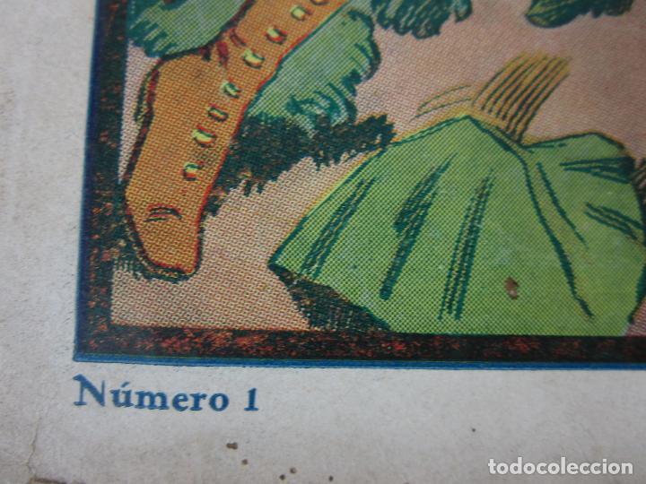 Tebeos: Las Grades Aventuras - La Patrulla del Marfil. Tim-Tyler, nº 1- Gran Formato - Original - Foto 3 - 198288493