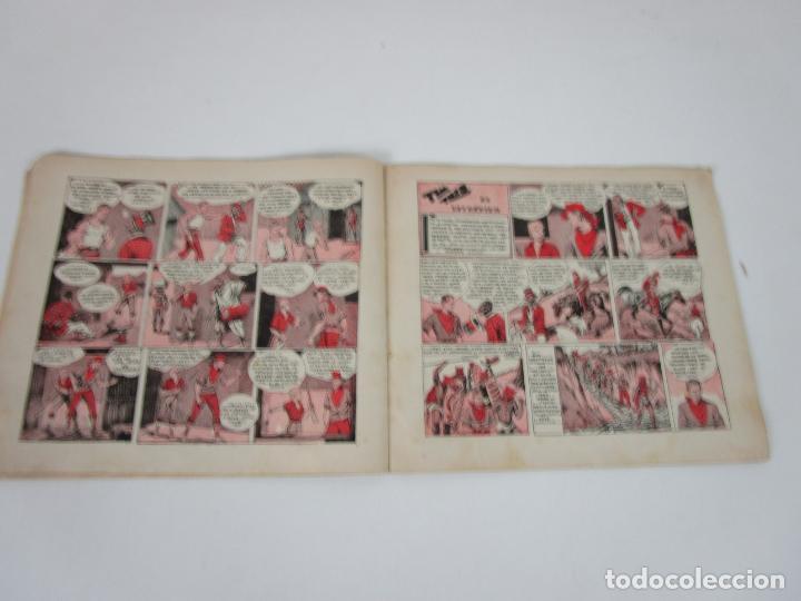 Tebeos: Las Grades Aventuras - La Patrulla del Marfil. Tim-Tyler, nº 1- Gran Formato - Original - Foto 6 - 198288493