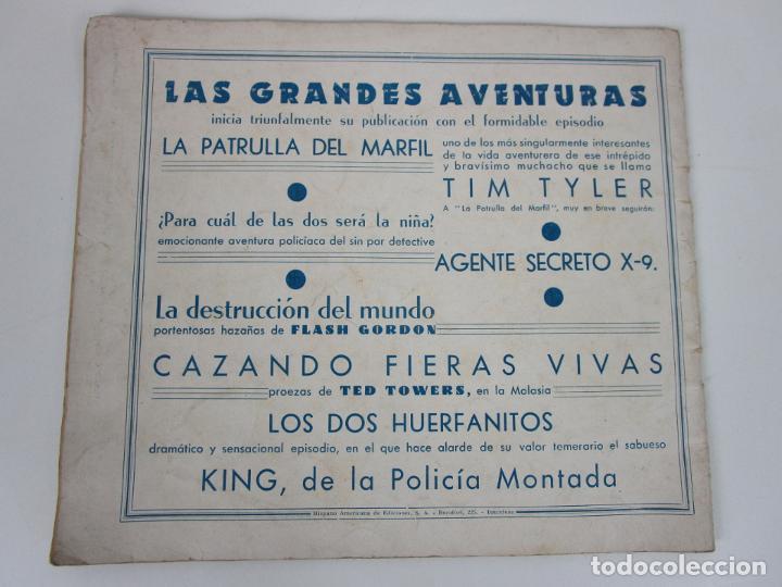 Tebeos: Las Grades Aventuras - La Patrulla del Marfil. Tim-Tyler, nº 1- Gran Formato - Original - Foto 7 - 198288493