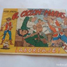Tebeos: CICLON DE LOS MARES Nº1 E JOLMA 1962 ORIGINAL. Lote 199727948