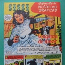 Giornalini: SISSI SUPLEMENTO DE NOVELAS GRAFICAS Nº 1 EDITORIAL BRUGUERA. Lote 201650790