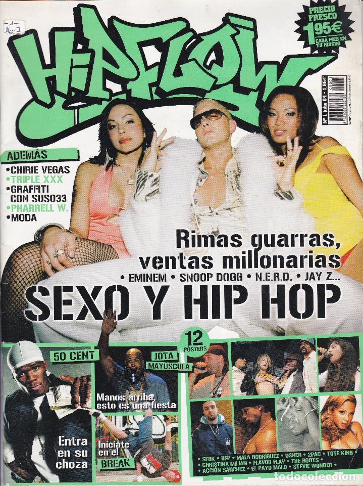 3 REVISTAS HIP FLOW, SOBRE EL HIP HOP, NUMEROS 1,2 Y 3 AÑO 2004, LOS PRIMEROS NÚMEROS DE LA REVISTA (Tebeos y Cómics - Números 1)