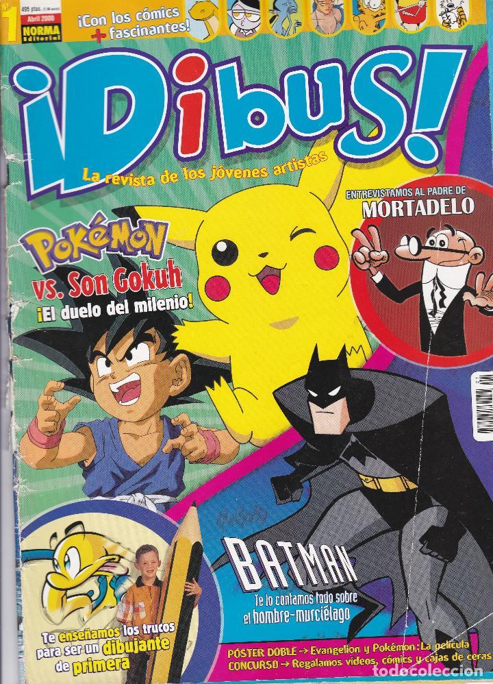 2 TEBEOS DIBUS Nº 1 Y 2 EDITADOS EN EL AÑO 2000 (Tebeos y Cómics - Números 1)