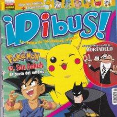 Tebeos: REVISTA DIBUS Nº 1 EDITADA EN EL AÑO 2000. Lote 202810967