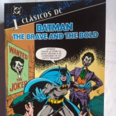 Tebeos: CLÁSICOS DC BATMAN THE BRAVE AND THE BOLD 1. Lote 203045112
