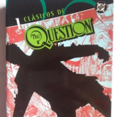 Tebeos: CLÁSICOS DC THE QUESTION 1. Lote 203045970