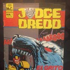 BDs: JUDGE DREDD N.1 EL GRITO DEL HOMBRE LOBO . JUEZ DREDD . MC EDICIONES . ( 1986 ).. Lote 203574063