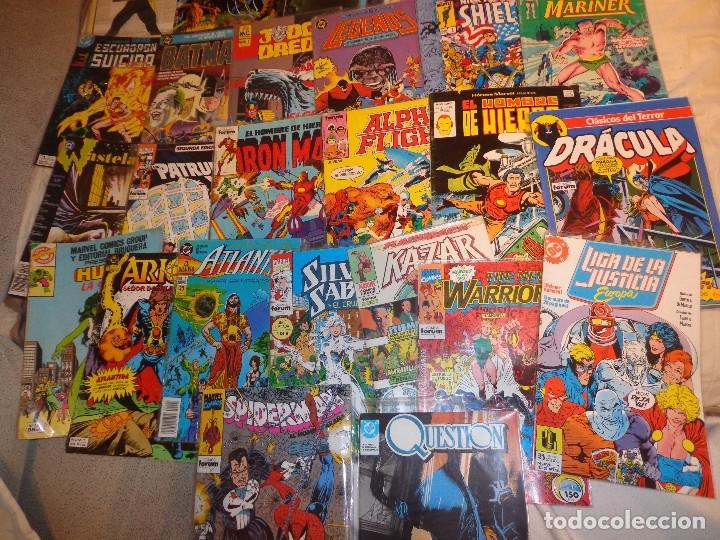 LOTE 28 COMICS NÚMEROS 1 Y PRIMERAS APARICIONES-CONSULTE POR SEPARADO (Tebeos y Cómics - Números 1)