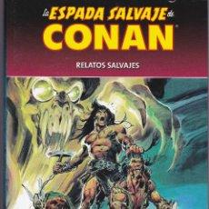 Tebeos: 3 LIBROS DE LA ESPADA SALVAJE DE CONAN Nº 1,2 Y 3 DE PLANETA DE AGOSTINI. Lote 203797266