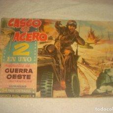 Tebeos: CASCO DE ACERO 2 EN UNO. NUMERO 1 . ED. MANHATTAN. Lote 203943847