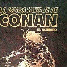 Tebeos: LA ESPADA SALVAJE DE CONAN COMPLETA 1º EDICION 171 + 9 ESPECIALES. Lote 204456066