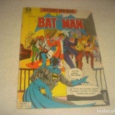 Tebeos: BAT MAN N. 1 . MEDIO HEROE .ED. ZINCO.. Lote 204465012