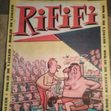 BDs: RIFIFI-REVISTA DE HUMOR-AÑO I,N 1,AÑO 1961,AMOK REVISTA PARA LOS JÓVENES.. Lote 205053985