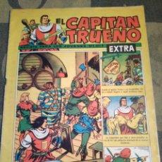 BDs: EL CAPITÁN TRUENO EXTRA-N°1,AÑO 1960,BRUGUERA,REVISTA PARA LOS JÓVENES,N °1,AÑO I,. Lote 205057670