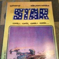 BDs: STAR-N°1,AÑO 1974,QUINCENAL,COMICS,. Lote 205395787