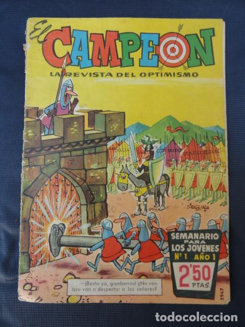 REVISTA CÓMIC EL CAMPEÓN. Nº 1. AÑOS 60. (Tebeos y Cómics - Números 1)