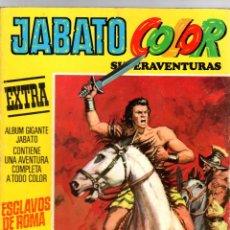 BDs: JABATO COLOR EXTRA. Nº 1. ESCLAVOS DE ROMA. BRUGUERA, 13 MARZO 1978. Lote 206237595