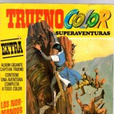 BDs: TRUENO COLOR EXTRA. Nº 1. LOS NORMANDOS DE OSFOLD. BRUGUERA, 6 MARZO 1978. Lote 206238981