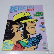 Tebeos: DETECTIVE STORY DICK TRACY EN SU PRIMERA AVENTURA. Nº 1. Lote 207937486