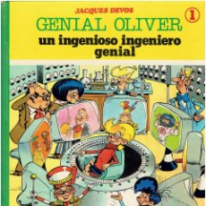 BDs: * GENIAL OLIVER * ED. SEPP MUNDIS 1980 * ALBUM Nº 1 UN INGENIOSO INGENIERO GENIAL *. Lote 207983643