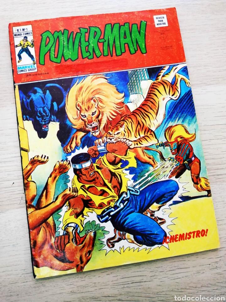 POWER-MAN 1 VERTICE NORMAL ESTADO POWERMAN (Tebeos y Cómics - Números 1)