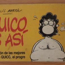 Tebeos: QUICO ES ASI. 1980. TIRAS DEL PERIODICO.. Lote 210551328