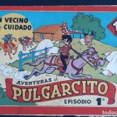 Tebeos: AVENTURAS DE PULGARCITO EPISODIO 1 1º UN VECINO DE CUIDADO BRUGUERA ORIGINAL CT1. Lote 210639592