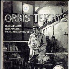 Tebeos: ORVIS TERTIVS - Nº 1 (EJEMPLAR GRAPA) - HERMIDA EDITOR 1982. Lote 211662913