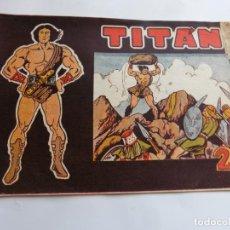 Tebeos: TITAN Nº 1 ACROPOLIS ORIGINAL. Lote 212011136
