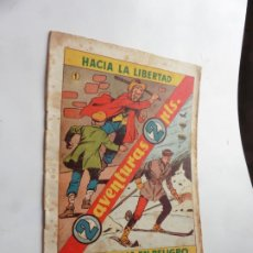 Tebeos: DOS AVENTURAS Nº 1 HISPANOAMERICANA ORIGINAL. Lote 212353676