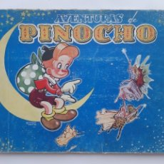 Tebeos: AVENTURA DE PINOCHO BRUGUERA AÑOS 40 ALBUM TAPA DURA TOMO 1º CONTIENE 6 PRIMEROS NUMEROS BRUGUERA. Lote 212398277