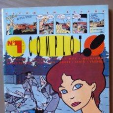 Livros de Banda Desenhada: NÚMERO 1 DE COMPLOT! - GALLARDO, JAVIER DE JUAN, MAX, MICHARMUT, MIQUE BALTRÁN, PERE JOAN, ROGER,…. Lote 214210692