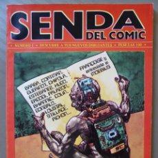 Livros de Banda Desenhada: SENDA DEL COMIC Nº 1 - NEDISA EDITORA, 1979. Lote 214210943