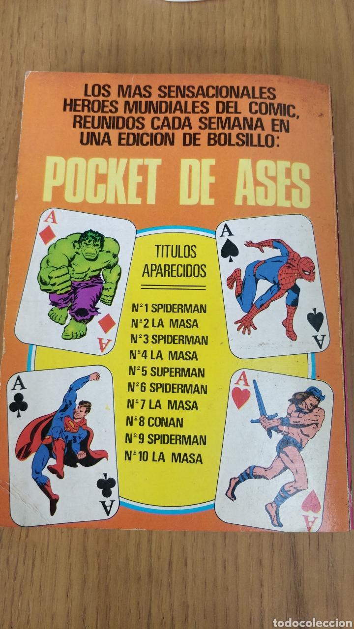 Tebeos: Pocket de ases (Bruguera) N.1 Spiderman - Foto 2 - 214274567