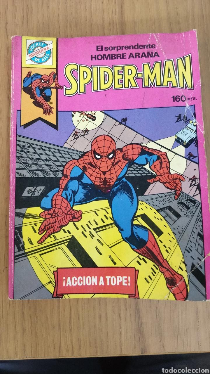 POCKET DE ASES (BRUGUERA) N.1 SPIDERMAN (Tebeos y Cómics - Números 1)