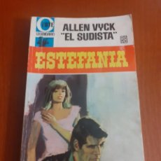 """Tebeos: NUMERO 1 DE LA NOVELA DE ESTEFANIA ALLEN VYCK """"EL SUDISTA"""" SERIE OESTE LEGENDARIO. Lote 214521670"""