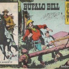 Tebeos: BUFALO BILL, Nº 1, GALAOR 1965- MUY BUEN ESTADO- LEER DESCR Y VER FOTOS. Lote 214704818