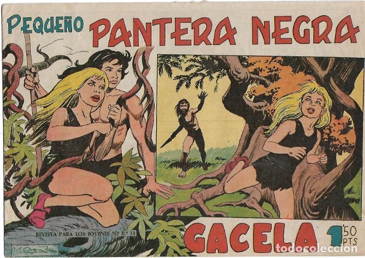 PEQUEÑO PANTERA NEGRA, Nº 1 (125) MAGA 1958- BUEN ESTADO- LEER DESCR Y VER FOTOS (Tebeos y Cómics - Números 1)