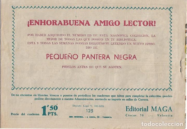 Tebeos: PEQUEÑO PANTERA NEGRA, Nº 1 (125) MAGA 1958- BUEN ESTADO- LEER DESCR Y VER FOTOS - Foto 2 - 214707837