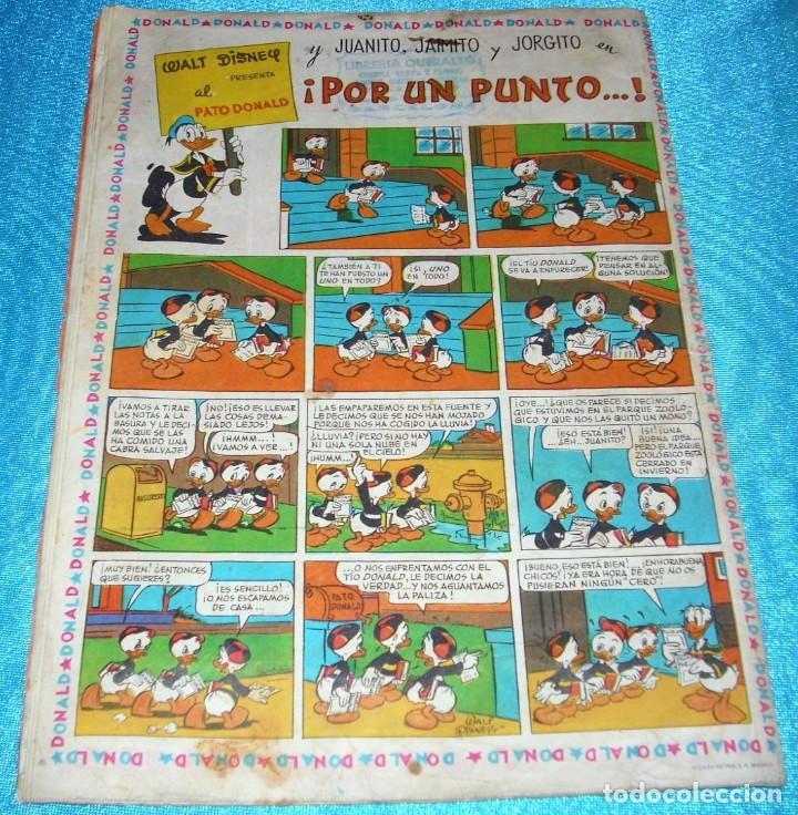 Tebeos: PATO DONALD Nº 1, ERSA 1965, 30x21 -BUEN ESTADO- LEER DESCR Y VER FOTOS - Foto 2 - 214716591