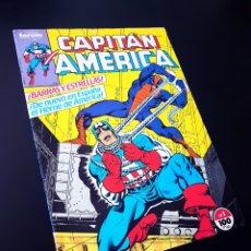 Tebeos: MUY BUEN ESTADO CAPITAN AMERICA 1 FORUM. Lote 215327700