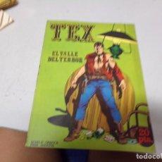 Tebeos: TEX - NUMERO 1 - DIFICIL DE ENCONTRAR PERFECTO ESTADO - BURU LAN EDICIONES. Lote 215531811