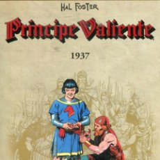 Tebeos: PRINCIPE VALIENTE 1937 (HAL FOSTER) Nº 1 (PLANETA 2011) CONTIENE LIBRETO CON EL CONTENIDO DE LA COLE. Lote 215780938