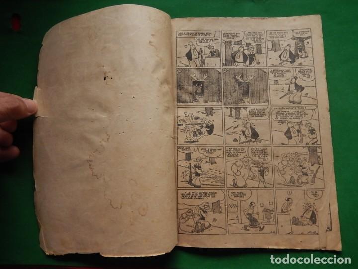 Tebeos: Páginas Cómicas Popeye el Marinero. Colección Audaz. Hispano Americana Ediciones S.A. Barcelona. - Foto 6 - 218414841