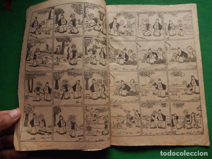 Tebeos: Páginas Cómicas Popeye el Marinero. Colección Audaz. Hispano Americana Ediciones S.A. Barcelona. - Foto 7 - 218414841