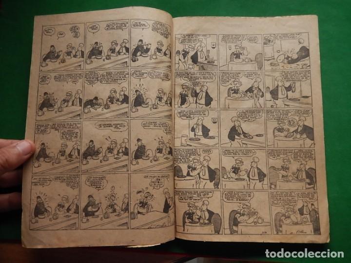 Tebeos: Páginas Cómicas Popeye el Marinero. Colección Audaz. Hispano Americana Ediciones S.A. Barcelona. - Foto 8 - 218414841