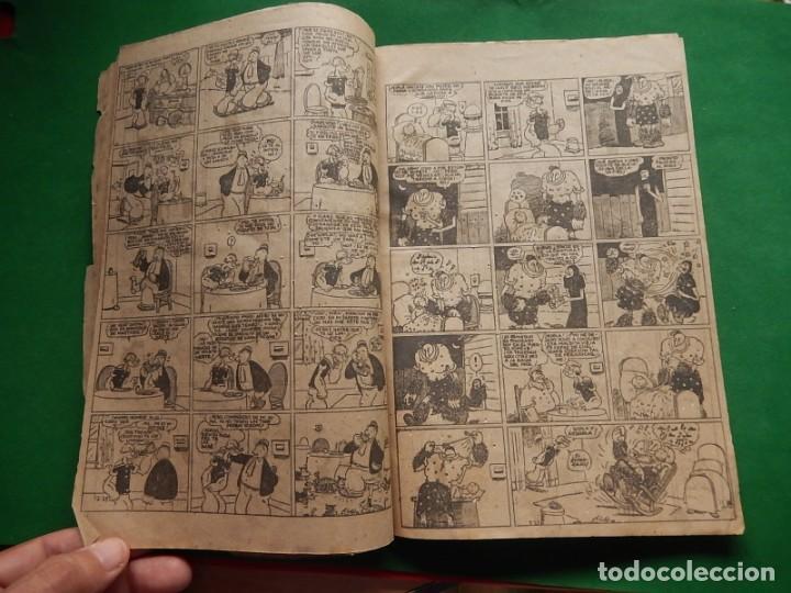 Tebeos: Páginas Cómicas Popeye el Marinero. Colección Audaz. Hispano Americana Ediciones S.A. Barcelona. - Foto 11 - 218414841