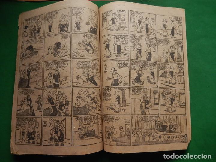 Tebeos: Páginas Cómicas Popeye el Marinero. Colección Audaz. Hispano Americana Ediciones S.A. Barcelona. - Foto 13 - 218414841