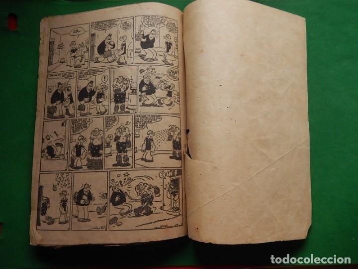 Tebeos: Páginas Cómicas Popeye el Marinero. Colección Audaz. Hispano Americana Ediciones S.A. Barcelona. - Foto 14 - 218414841